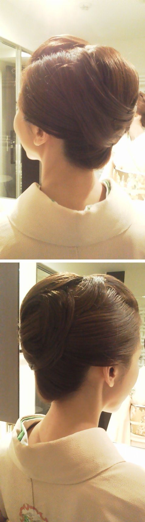 Kimono hairstyle: 着物 ヘアスタイル