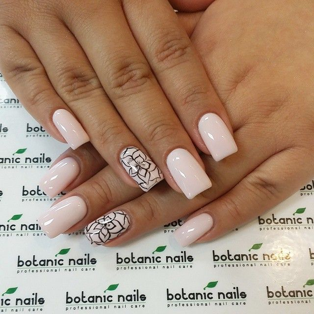 BOTANIC NAILS @botanicnails @sandyvrg gel#120...Instagram photo | Websta (Webstagram)