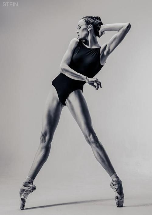 ballerina legs stretched & pin pointed to the max