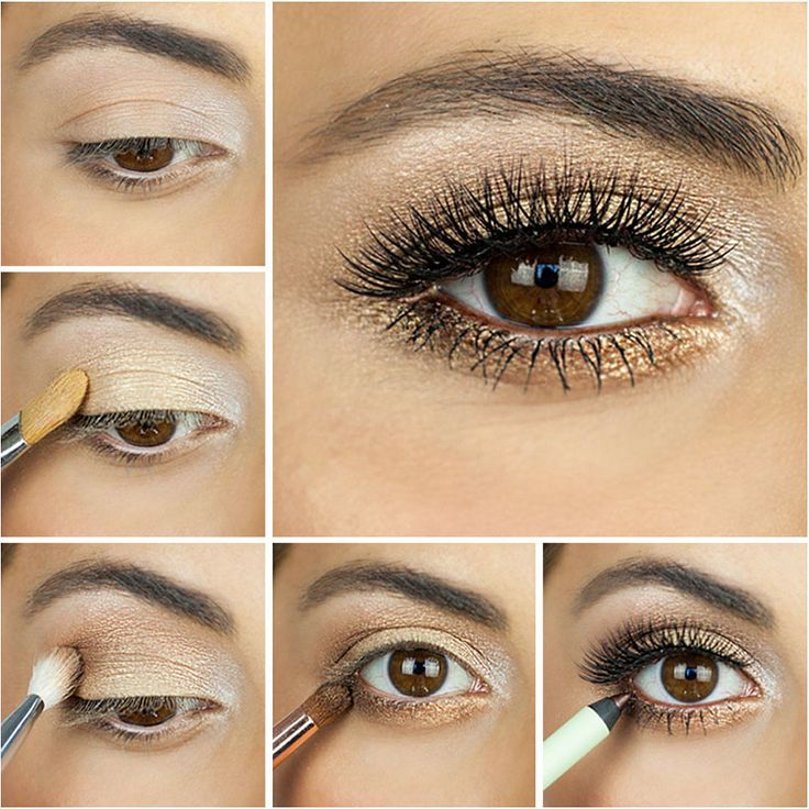 Summer is full swing, and if you're still looking for the perfect makeup look to take you through all of your late night barbecues and daytime festivities you're in luck! Opt for shimmery bronzed eyeshadow colors for a sexy, smoky look.