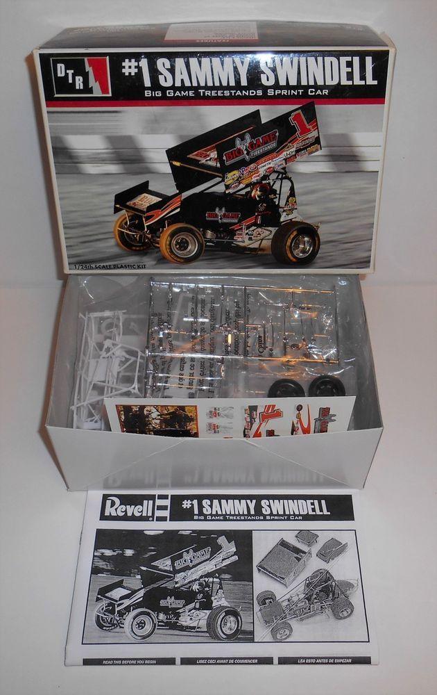 Sammy Sindell Big Game Treestands Sprint Model Car Kit 1:24 Scale