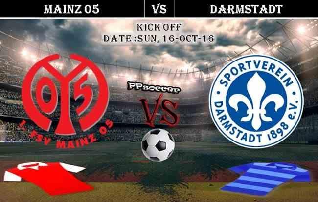 Mainz 05 vs Darmstadt 16.10.2016 Predictions - PPsoccer