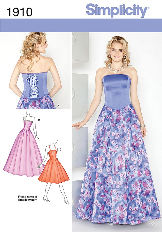 Simplicity Misses & Miss Petite Dresses Pattern