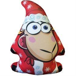 Дед мороз-овечка игрушка-антистресс
