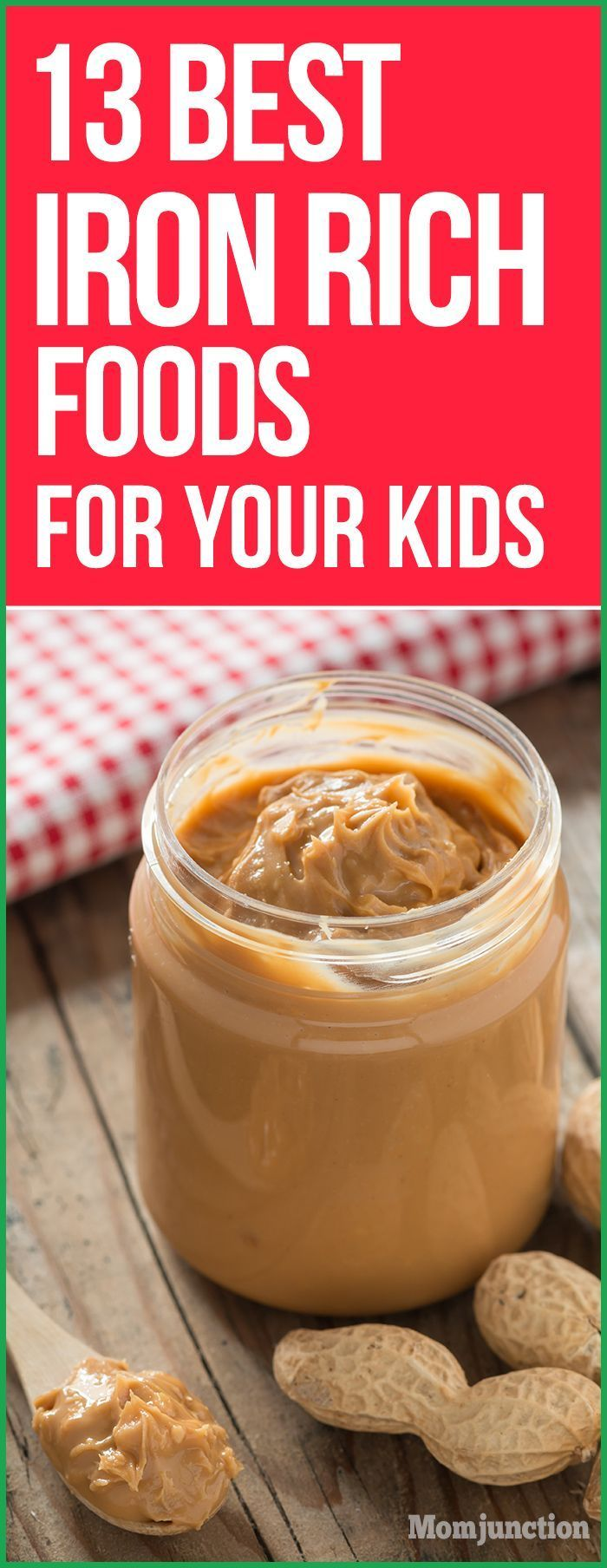 13 Best Iron Rich Foods For Kids