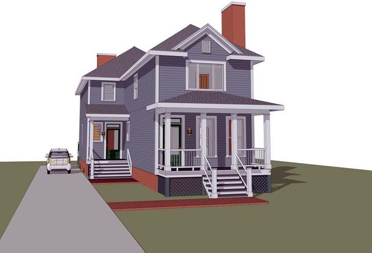 Multi Family Plan 72792 House Plans Family Houses And