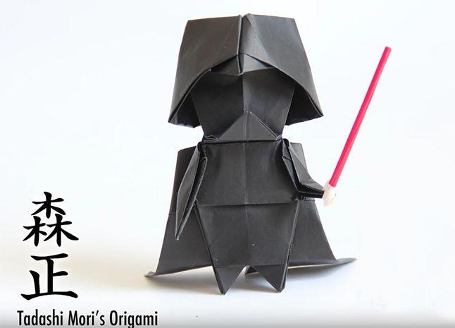 25 einzigartige origami darth vader ideen auf pinterest