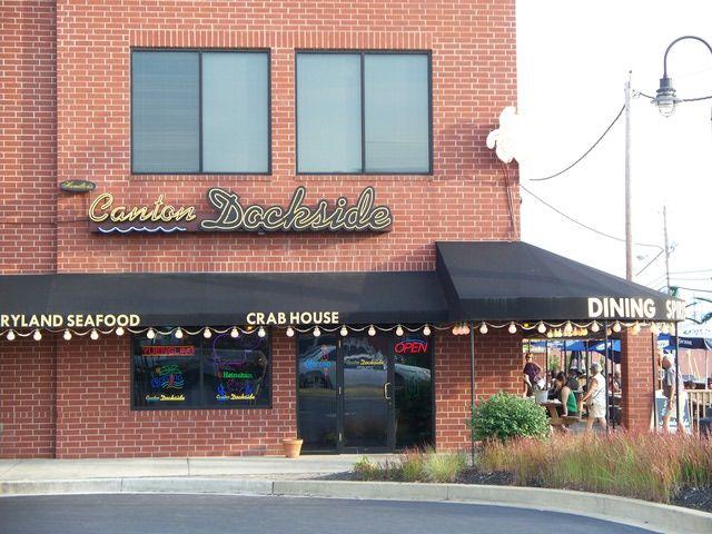 Canton Dockside Restaurant Review - Canton Dockside in Baltimore MD - Canton Dockside Crabs