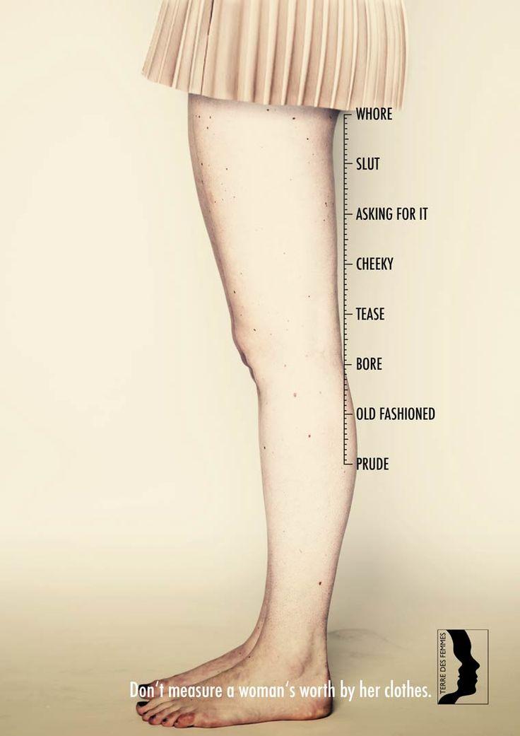 Ne jugez pas une femme par ses vêtements