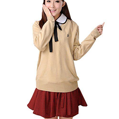 Partiss Japan Schuluniform Maedchen Kostuem Cosplay Lolita gotische Langarm Anzug Mantel Bluse mit Faltenrock fuer Party(Tag L/EU S,#3) Partiss http://www.amazon.de/dp/B01CJG4YHW/ref=cm_sw_r_pi_dp_iGp6wb1C10HPD