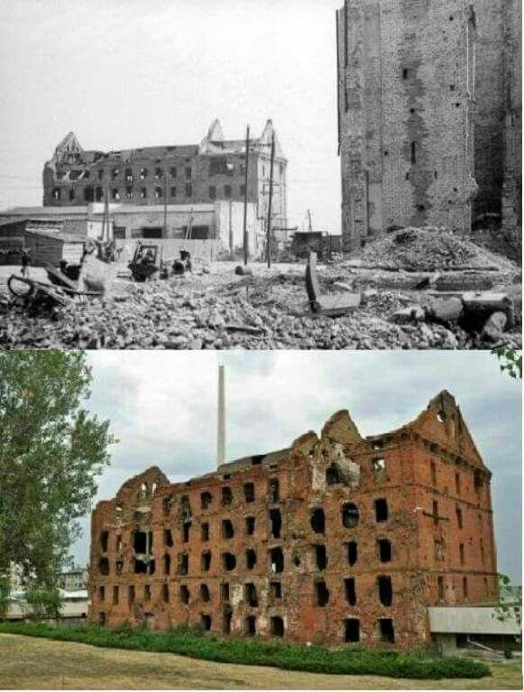 Then & Now Stalingrad Flour Mill