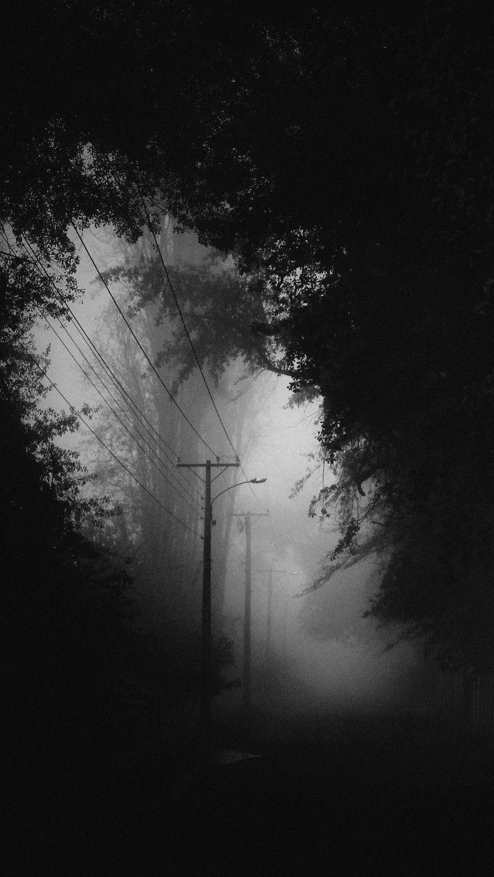Night And Fog Dark Photography Black Aesthetic Wallpaper Dark Wallpaper