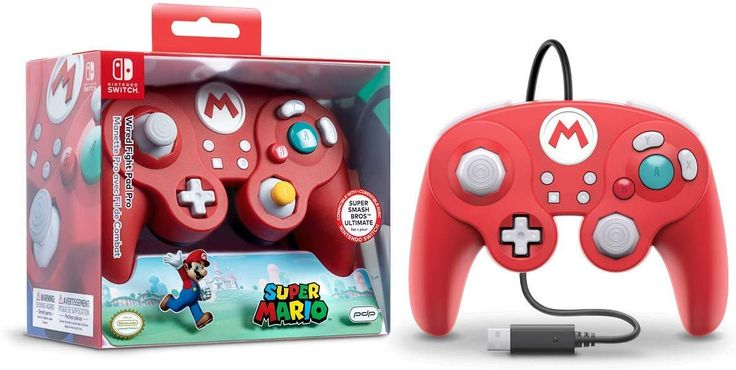 Amazon Com Nintendo Switch Super Mario Bros Mario Gamecube Style Wired Fight Pad Pro C Nintendo Switch Super Mario Nintendo Switch Accessories Nintendo Switch