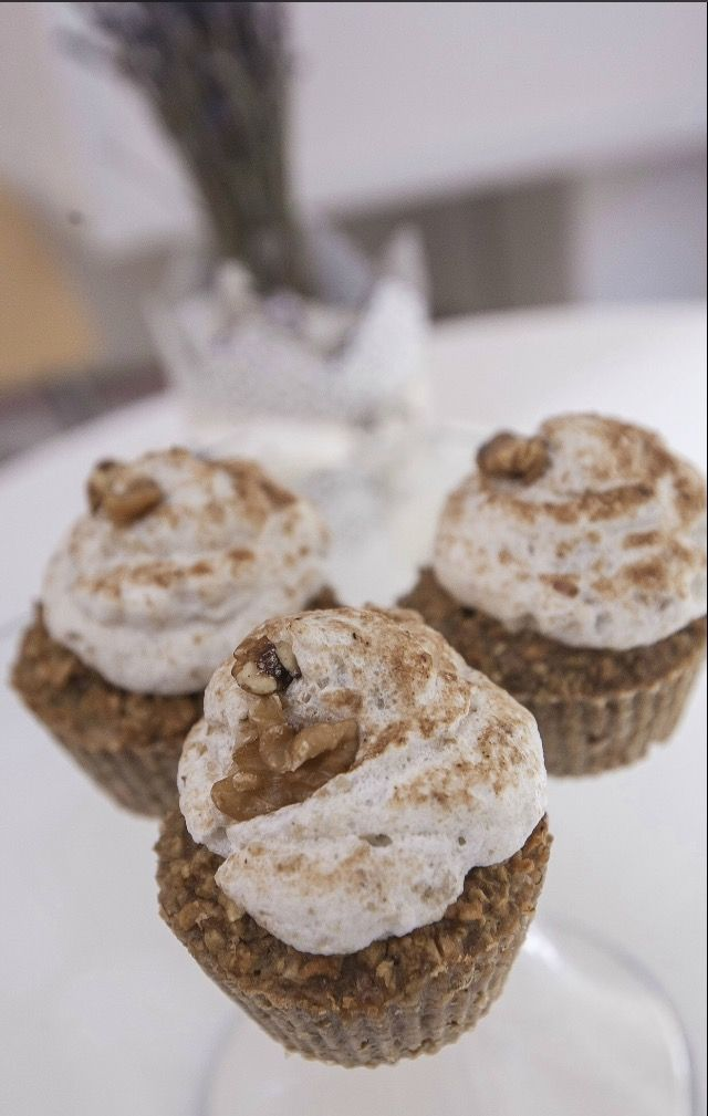 Diós muffin; gluténmentes, tejmentes, cukormentes
