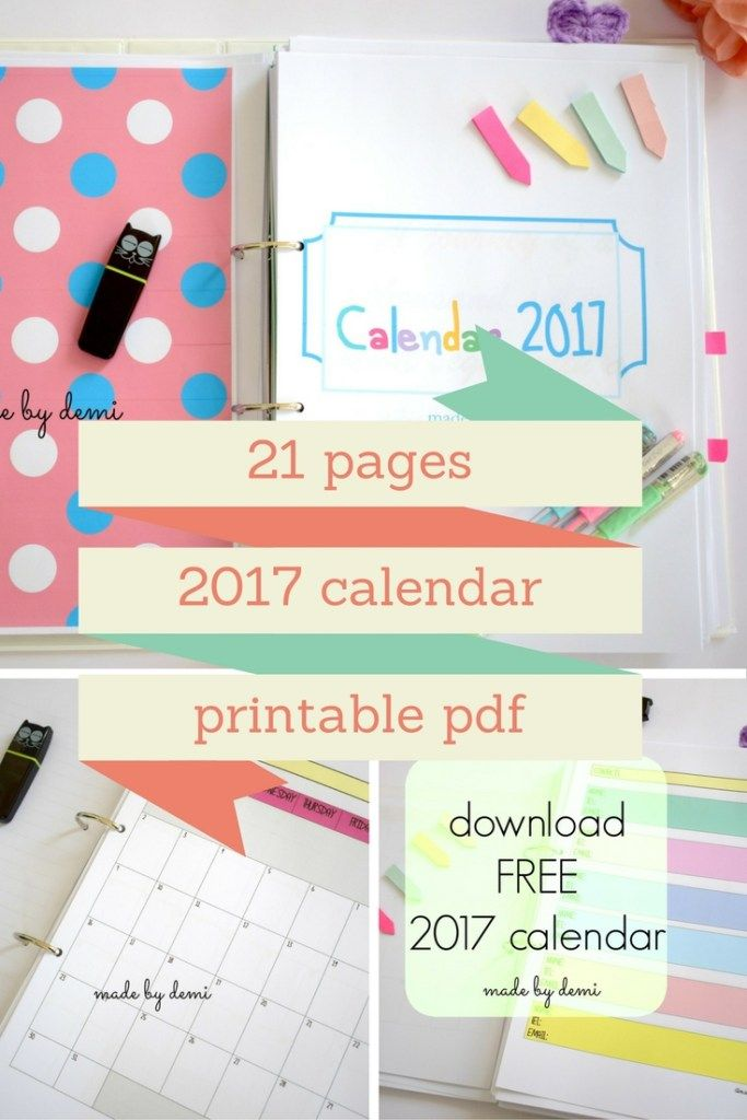 free calendar to download
