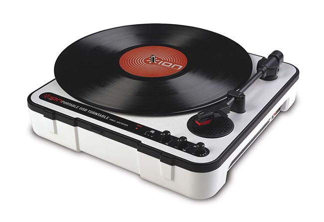 Numark Battery-Powered Analog Record Player ION Audio Mobile