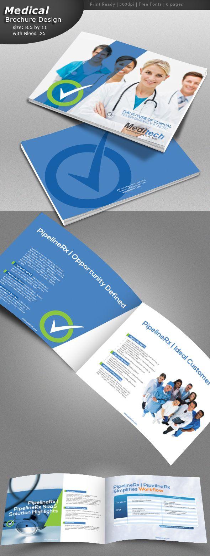 The 25+ best Medical brochure ideas on Pinterest   Brochure layout ...