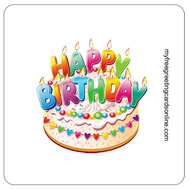 Animated Birthday cards to share. Bright colored fun birthday cards. Great for use, with social sharing, such as Facebook.