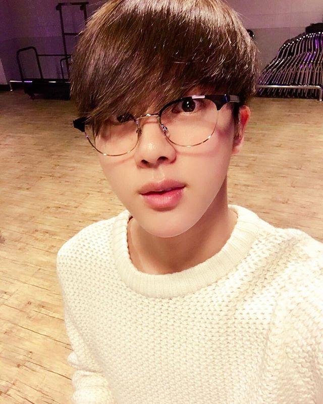 WEBSTA @ thebangtanboys - 160418 #jin - ©twitter | @bts.bighitofficial - BTS official instagram