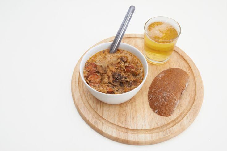 Kapustovo-šošovicová polievka