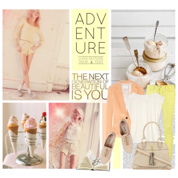 Pastel Dreams: Mi Style, Pastel Cerveza Tennis, Plays Dresses, Colors Style, Polyvore Closet, Colors Pastel, Pastel Dreams, Pretty Pastel, Fashion Obsession