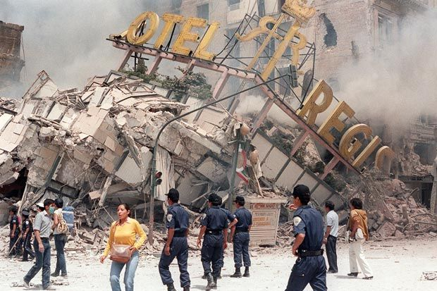 September 19 – An 8.1 Richter scale earthquake strikes Mexico City. Around 10,000 people are killed, 30,000 injured, and 95,000 left homeless.
