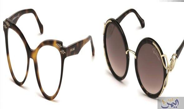 روبيرتو كافالي تقدم تشكيلة من النظارات بأطر على شكل أفاعي Round Sunglasses Sunglasses Glasses