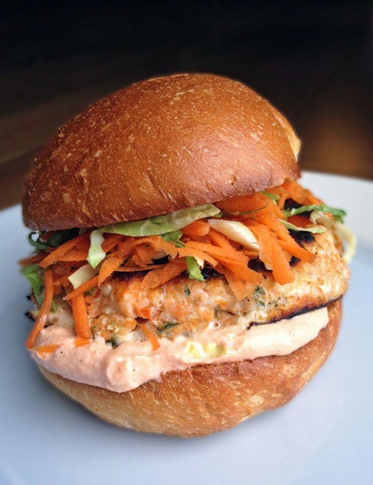 Thai Salmon Burgers | Making Life Sweet
