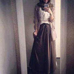 cosy hijab fashion