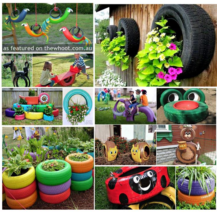 372 best images about garden recycle ideas on pinterest for Garden decorations from recycled materials