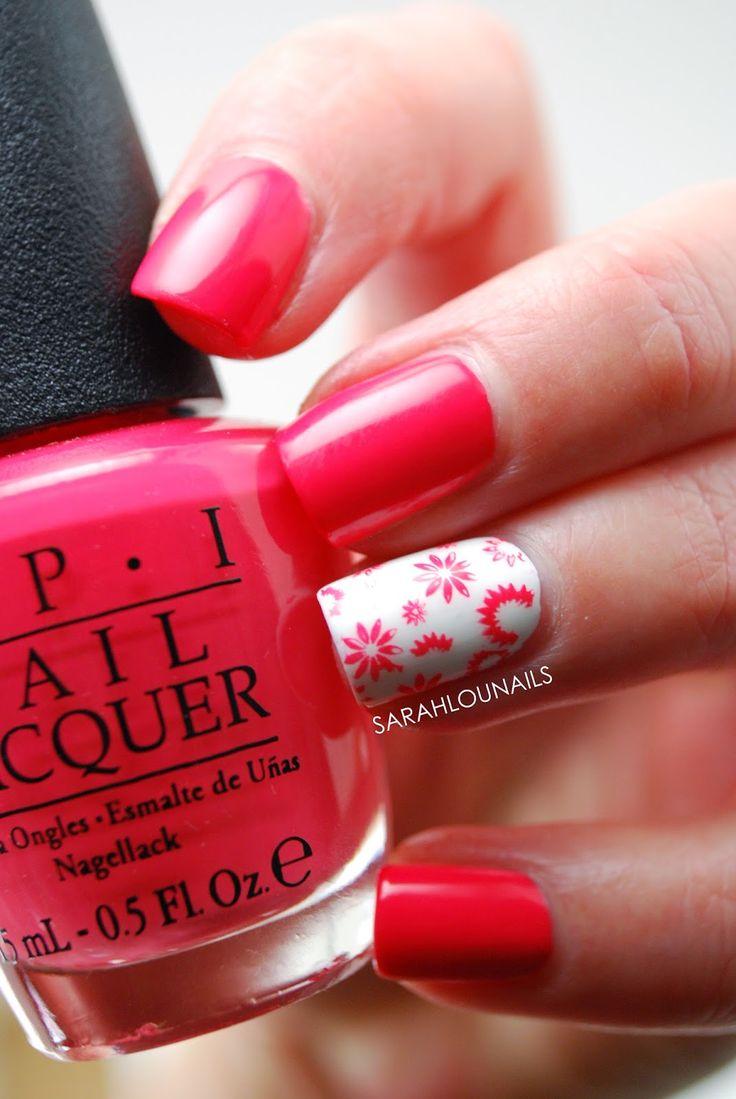 Flower Stamp Nails!