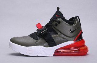 51db317f2 Mens Nike Air Force 270 Sneakers Medium Olive AH6772 200
