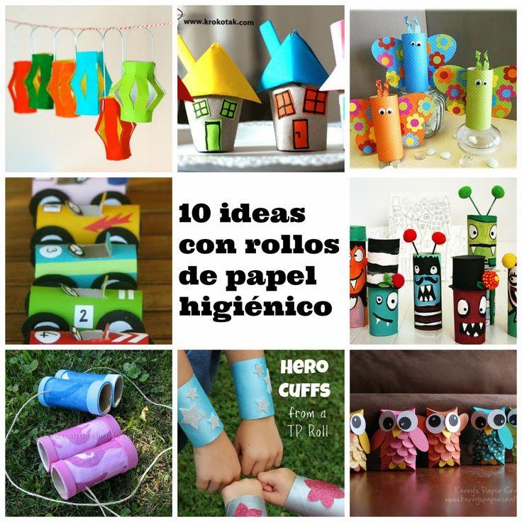 21 best images about zyro manualidades on pinterest - Manualidades con rollos de papel higienico para navidad ...