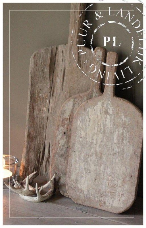 Verschillende oude houten kaasplanken | 》Woonaccessoires | Puur & Landelijk Living
