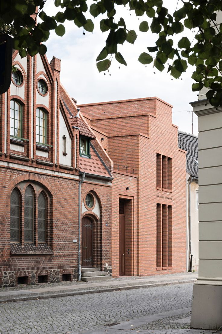 Evangelisches Gemeindehaus in Finsterwalde von Habermann Architekten