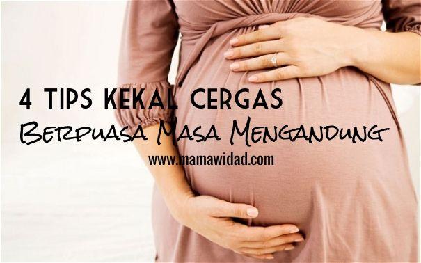 Tips kekal bertenaga berpuasa semasa hamil