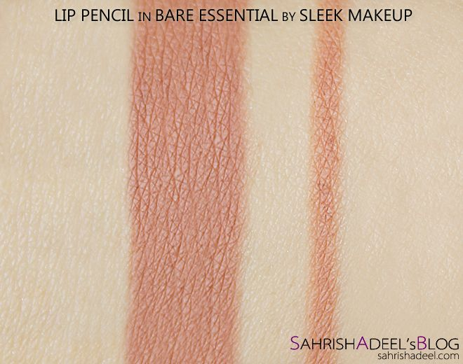 Lip Pencil in Bare Essential by Sleek Makeup - Review