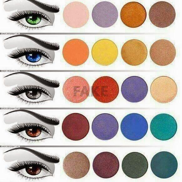 Afbeeldingsresultaat voor oogschaduw blauwe ogen