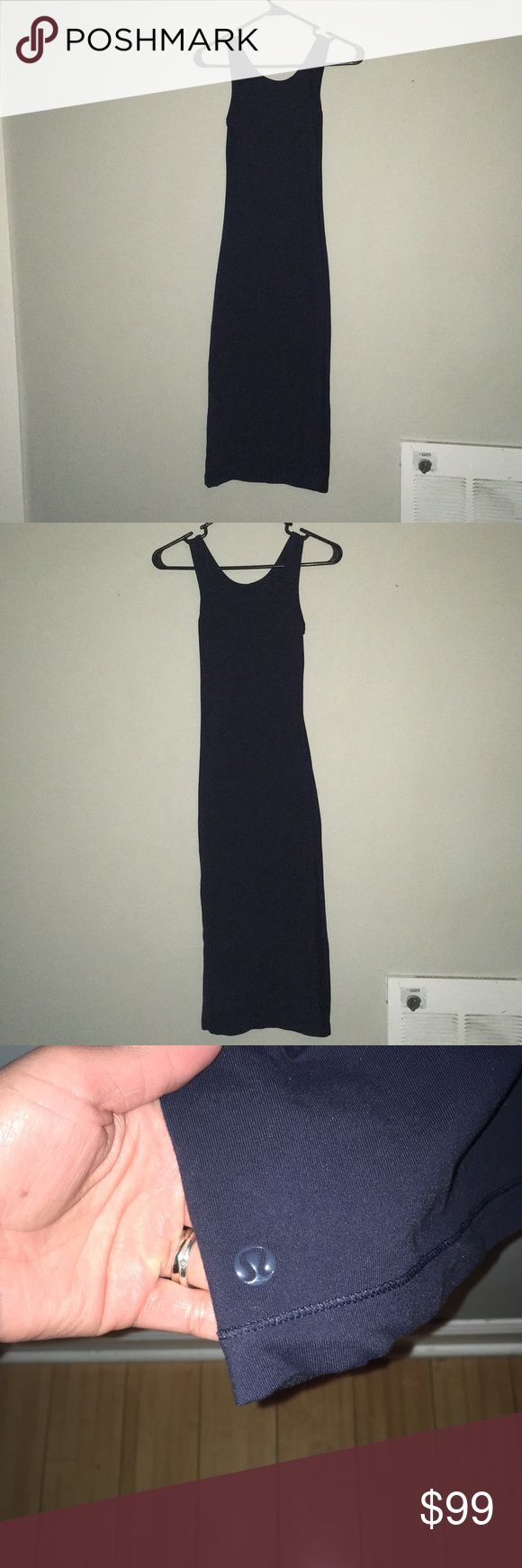 Lululemon dress Dark purple Lululemon dress no holes or marks little wear offers welcome lululemon athletica Dresses
