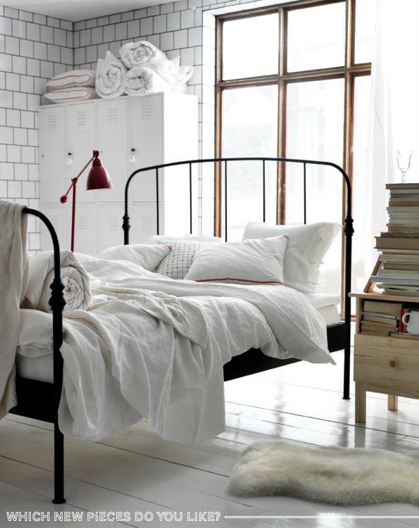 white warm bedroom