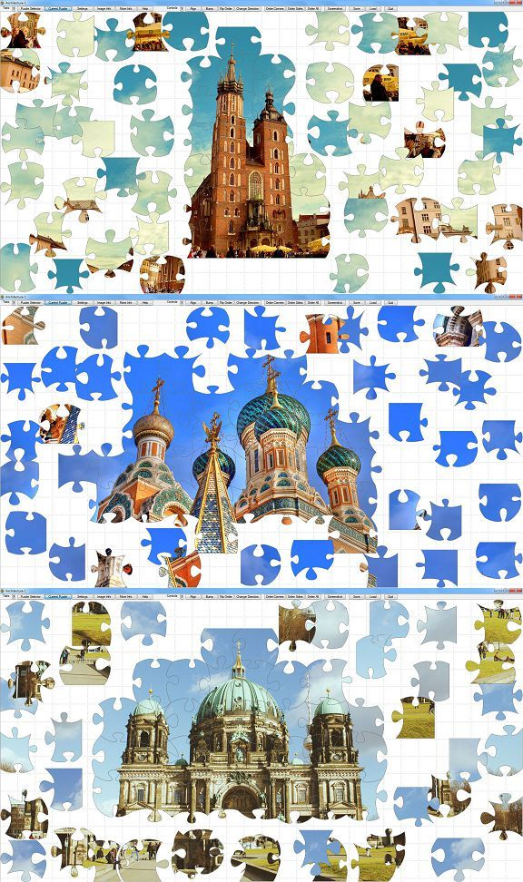Jigsaw Factory - Jigsaw Puzzle Generator Software (for