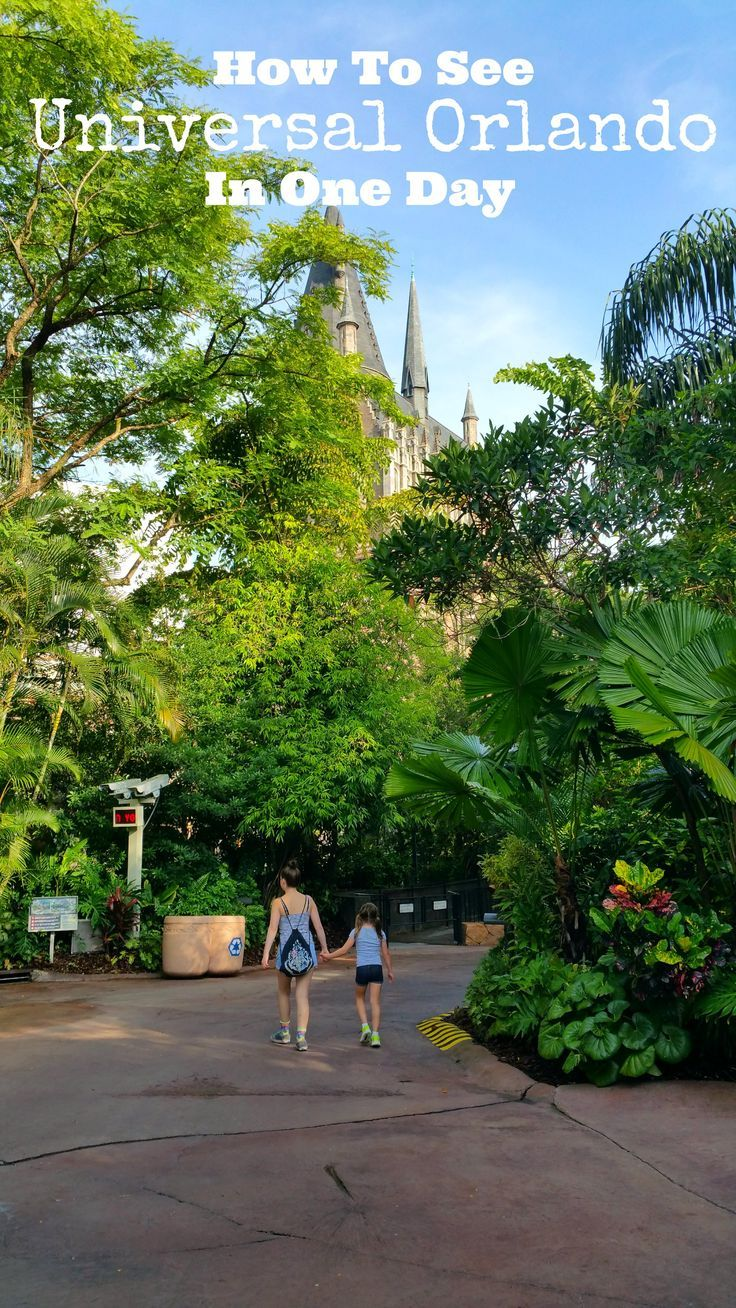 How To See Universal Orlando In One Day