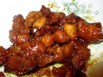 "Sweet Hawaiian Crockpot Chicken- ""Tasted just like what I always fill my plate up with at the Chinese buffet"" YUM"
