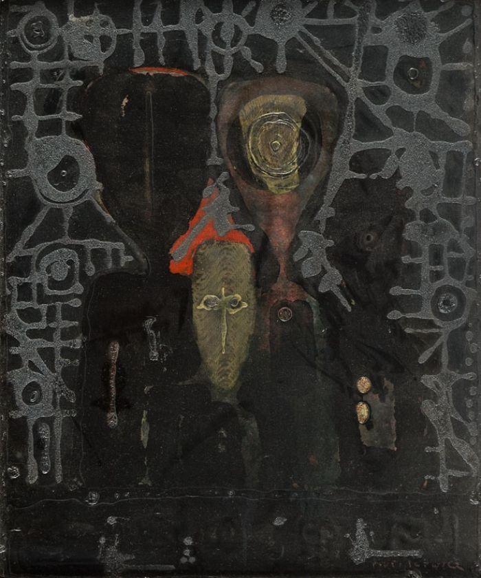 """Henryk Musiałowicz - Z cyklu """"Rodzina"""", 1994 r."""