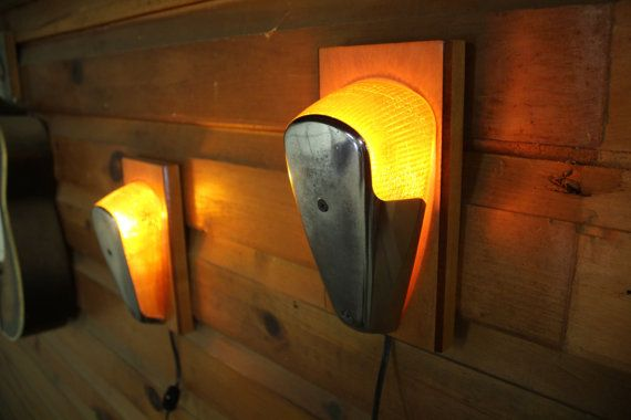 Vintage Volkswagen Beetle VW Bug Lamps/Walls Sconces by timsway                                                                                                                                                      More