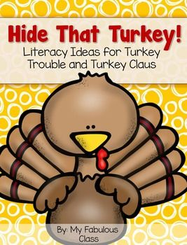 This is a great Comprehension and Writing pack for two great stories - Turkey Trouble and Turkey Claus.