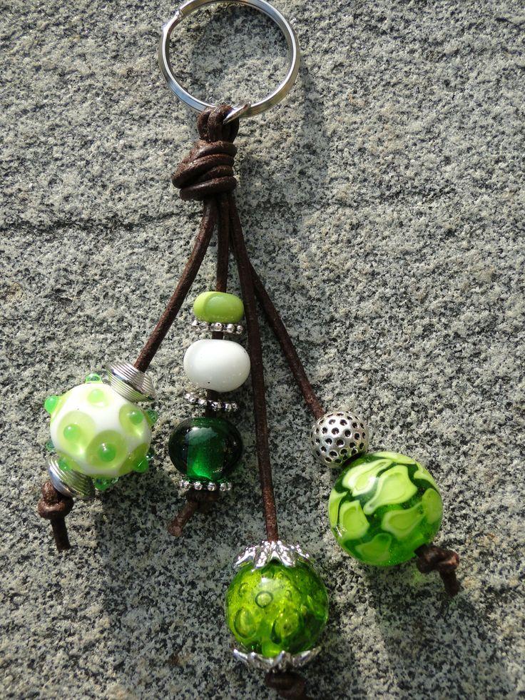 Schlüsselanhänger in grün