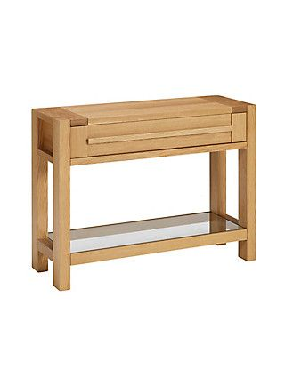 Sonoma Console Table | M&S (existing item, to be re-housed for TV storage etc)