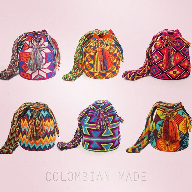 some items currently on our Etsy page ColombianMadeShop check it out! Ships worldwide!! #Wayuu #mochila #bags #handmade #etsy #ethnic #colombia #colombianmade #borsas #summer #itbag #folkloric...