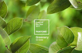 La pietra blu di Avalon: Il Greenery è il colore del 2017, lo dice Pantone!...